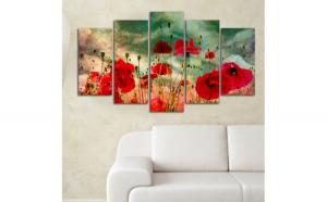 Set tablouri, 5 piese , Wallity , 110 x