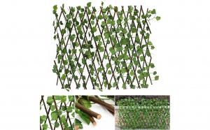 Gard viu artificial extensibil vesnic verde, 2000 x 1000