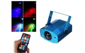 Mini Proiector Water Ripples cu telecomanda, la 109 RON in loc de 219 RON! Garantie 12 luni!