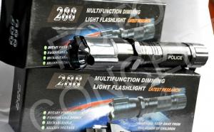 Lanterna cu electrosoc si laser, la 68 RON in loc de 136 RON