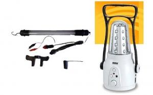 Lanterna led cu radio + lampa auto neon la doar 84 RON in loc de 170 RON