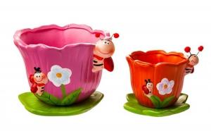 2x Ghiveci Ceramica, la 42 RON in loc de 80 RON