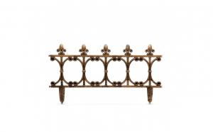 Gard decorativ pentru stratul de fori