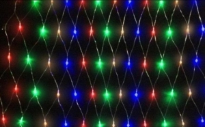Instalatie tip plasa, LEDuri multicolore, 2x1,5m, la 39 RON in loc de 79 RON! Garantie 12 luni!