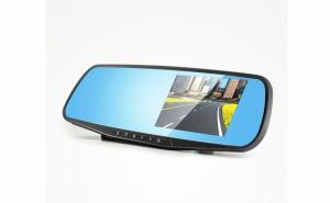 Camera auto video, cu monitor tip oglinda retrovizoare, Full Hd 1080p