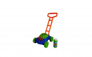 Masina de tuns iarba cu baloane sapun
