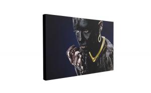 Tablou Canvas Gold Nacklace, 40 x 60 cm, 100% Bumbac