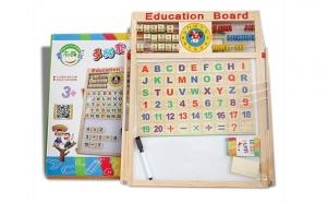 Tabla magnetica educativa pentru copii 40X40 cm