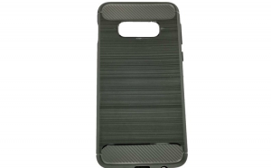 Husa Samsung Galaxy S10e Tpu, carbon, Negru