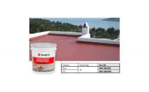 Membrana lichida hidroizolanta elastica ranforsata (rosu) 20 kg IMPELAST FR -  Wurth