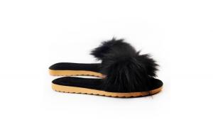 Papuci de casa, EHA, culoare Negru, 39