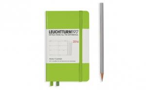 Leuchtturm 1917 Agenda 2016 Saptamanala A6, la 54 RON in loc de 75 RON