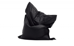 Fotoliu tip perna negru, 120x90cm, Kids Pillow, Kids pill black