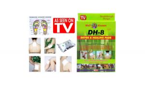 Plasturi pentru detoxifiere DH-8 si vindecare, Detox & Healing Pads, extracte din plante