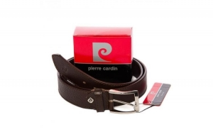Curea barbati din piele naturala Pierre Cardin PCB8301-Cafeniu-115 cm - Ajustabila