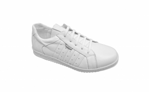 Pantofi sport/adidasi Nevalis din piele naturala negri si albi masuri 39-46