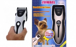 Aparatul Profesional de Tuns Animale Zowael, la doar 79 RON in loc de 169 RON