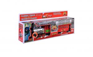 Trenulet cu vagon de jucarie pentru copi