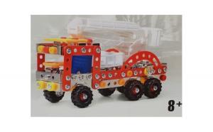 Masinuta de montat metalica Pompieri