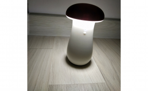 Baterie Externa 8000mA cu functie de Lampa Veghe in forma de Ciuperca