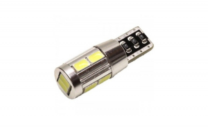 Led auto Canbus T10 cu 10 SMD 5730 -