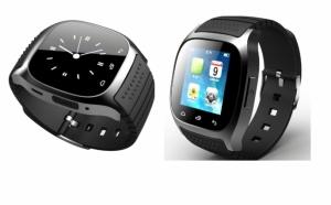 Smartwatch M26 Bluetooth, 1.5 inch, Barometru, Pedometru, Altimetru, Negru, la doar 185 RON