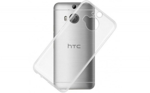 Husa HTC One M9 Flippy Tpu Transparent