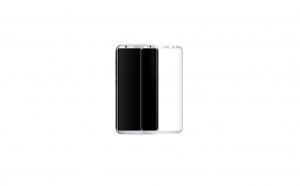 Folie sticla securizata Full Screen Curbata Samsung Galaxy S8/S9 ,Silver