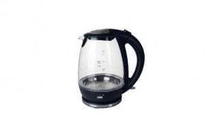 Fierbator de apa, 2200W, capacitate 1,7 L, carcasa din sticla, MIA-Prodomus, EW3682