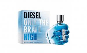 Apa de toaleta Diesel Only The Brave High, Barbati, 75 ml