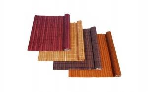 Set 4 buc suport pentru farfurii din bambus