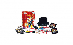 Palarie pentru magie de copii cu 125 de trucuri magice +1 dvd