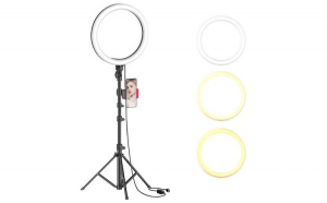 Lampa circulara Make up, profesionala, TeamDeals 10 Ani, Ingrijire personala