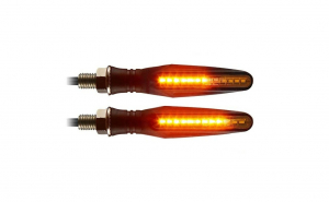 Set 2 lampi semnalizare moto, ATV, slim
