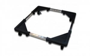 Suport cu roti pentru frigider si aragaz, material anticoroziv, 60 cm deschidere maxima,200 kg