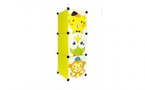 Dulap pentru copii cu 3 compartimente