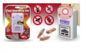 Pest Repeller Ridex - elimina soarecii si insectele nedorite, la 29 RON in loc de 89 RON