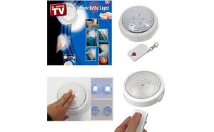 Bec cu telecomanda Remote Brite Light