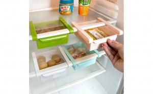 Set de 3 cutii pentru depozitare tip sertar pentru frigider