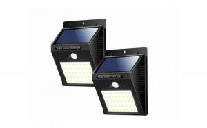 Lampa cu led, incarcare solara si sensor