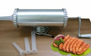 Preparati carnati sanatosi si gustosi cu Noua Masina de facut Carnati KY-2006C, capacitate 2,5 L acum la pretul de 129 RON in loc de 499 RON