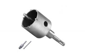 Carota SDS-Plus cu pastile din carbura de tungsten Troy T27490, O67 mm