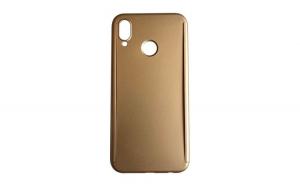 Husa Huawei P20 Lite Flippy Full Cover 360 Auriu + Folie de protectie