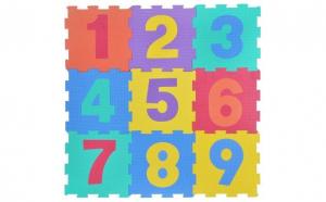 Puzzle covor spuma 9 bucati