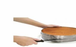 Feliator reglabil pentru blat de tort