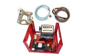 Pompa transfer motorina 220V 550W 60L/min Kit cu contor, furtune si pistol Breckner Germany