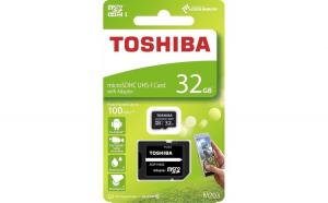 Card de memorie microSD UHS Toshiba,