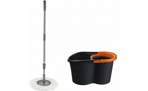 Set curatenie Jumbo Magic, mop rotativ 360°, galeata 16 L