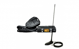 Kit statie radio CB CRT One + Antena PNI