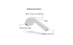 Casti bluetooth + cutie de reincarcare, wireless pentru Android, Iphone